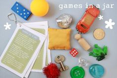 Lost Button Studio: Games in a Jar w/ Free Printable