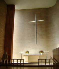 Christ Church Lutheran by Eliel and Eero Saarinen, Minnesota, USA