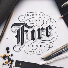 Work by @ilhamherry #typography #betype #lettering...