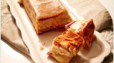 Croque-cake au jambon et à la béchamel