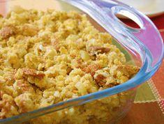Thanksgiving Vegan Cornbread Stuffing with Gravy http://www.onegreenplanet.org/plant-based-recipes/thanksgiving-vegan-cornbread-stuffing-with-gravy/