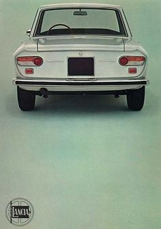 Lancia Fulvia. Why don't car companies make elegant, lightweight coupés anymore?