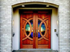 Learn the pros and cons of different types of entry doors, the various styles and latest trends. Glass Panel Door, Glass Front Door, Glass Panels, House Entrance, Entrance Doors, Modern Entry Door, Add A Room, Door Casing, Door Steps