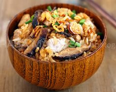 Yam Rice | Yam Rice Recipe
