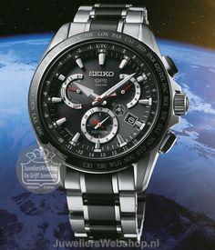 Seiko SSE041J1 Astron GPS Solar horloge Heren Dual Time