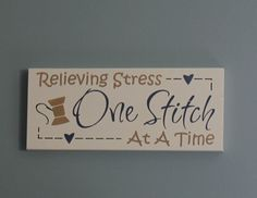 Sewing Sign