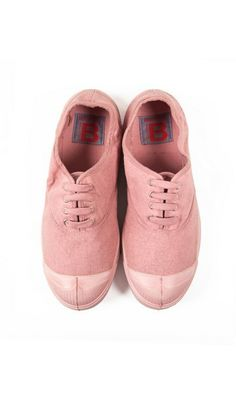 Tennis colorsole rose Bensimon