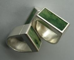 Pounamu Rings Metal Jewelry, Diamond Jewelry, Jewelry Rings, Gold Jewelry, Mens Silver Rings, Sterling Silver Rings, New Zealand Jewellery, Maori Designs, Rings N Things