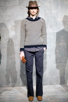 thatkindofwoman:  Favorite look from Steven Alan Fall 2012 by Calivintage
