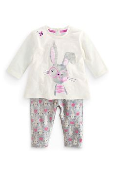 Buy Bunny Leggings Set (0-18mths) from the Next UK online shop