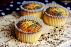 Lemon muffins with Poppy seeds - the recipe is on my blog~