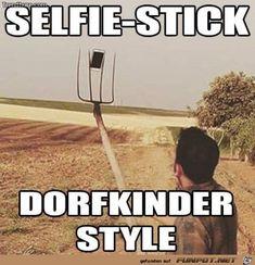 lustiges Bild 'Selfie Stick.jpg' von Reikru. Eine von 14329 Dateien in der Kategorie 'witzige Bilder' auf FUNPOT.