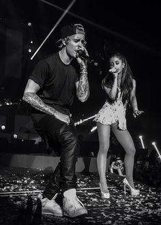 Justin Bieber and Ariana Grande!!!