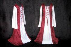 patron couture gratuit robe medievale 8