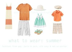 What to wear to our portrait session at the beach for young family.  Colors would be great for any family though
