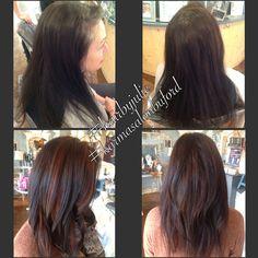 Hair by Julie Manos-Robinson #longlayers #brunette #layers #hair #karmasalonbuford #bufordga #hairbyjuliemanosrobinson