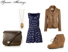 """""""Spencer Hastings Inspired Outfit"""" by rebecca-fitzpatrick on Polyvore"""