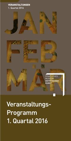 Quartalsprogramm Januar - Februar - März 2016
