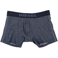 Diesel Helong Boxer Shorts CALF (Navy/Blue) Men's Underwear (27 AUD) ❤ liked on Polyvore featuring men's fashion, men's clothing, men's underwear, multi, mens underwear boxer briefs, mens stretch boxers, mens boxer trunks, mens short leg boxer briefs and mens polyester boxers