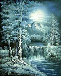 Winter Grandeur Canvas Wall Art