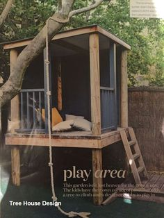 DIY Tree House Design art art design landspacing to plant