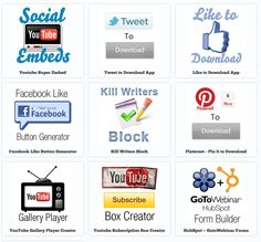 How to get more followers on Twitter, Likes on Facebook and subscribers on YouTube...among other things! Apps here (and soon, a podcast episode with the creator): http://www.inboundnow.com/apps/