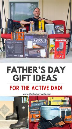 Great Gifts For Dad, Dad Gifts, Fathers Day Gifts, Kids And Parenting, Parenting Hacks, Ladies Group, Home Gym Equipment, Cleaning Kit, Carry On Bag
