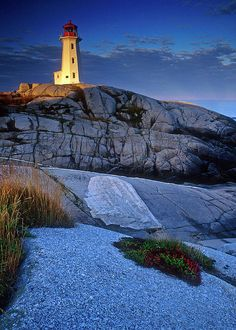 ✮ Peggys Cove Lighthouse - Nova Scotia  - Canada