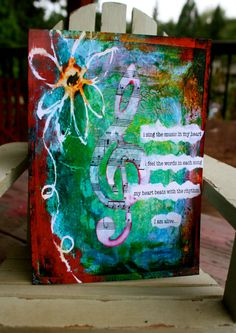 Inspirational Blank Greeting Card 5x7  with by KathleenTennant, $5.00