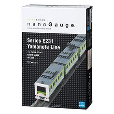 Nanoblock Nanogauge Ngt_005 Train Collection Series E231 Yamanote Line Authentic * Learn more @