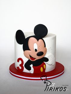 Simply Mickey - Cake by Pirikos, Cake Design