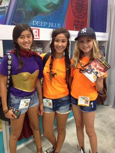 Demigods at #SDCC | I'm so jealous. Also that Piper cosplay is CRAZY good. Like, whoaaaaa...
