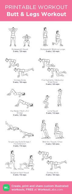 Butt & Legs Workout