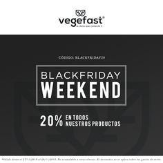 ¡Prepárate para el Black Friday! ¡Desde mañana, 20% de descuento en TODOS nuestros productos!  Con el código: BLACKFRIDAY20