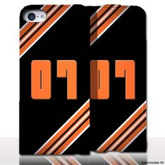Protection iPhone 5 Cuir Numero - Personnalisez votre étui en cuir. #Numero7 #iPhone5 #Cuir #etui