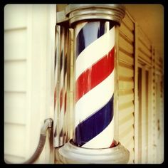 Loved the old Barber Shop signs...how did they make it look like it was moving!?