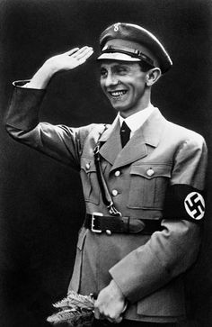 PhotographDescriptionReich Minister for Public Enlightenment and Propaganda Joseph Goebbels, 1934