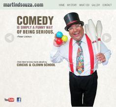 #web #creative #art #funny   #events #company #website Clown School, Peter Ustinov, Circus Clown, Website Development Company, Creative Art, Comedy, Events, Funny, Youtube