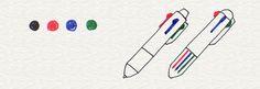 1-1. ボールペンを選ぼう | 4色ボールペンで!かわいいイラスト描けるかな