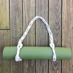Tutorial For Macrame Yoga Mat Strap Diy Pattern