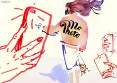 Fashion Łyk 2016 - illustration for Kontakt Magazyn, by Karolina Niedzielska