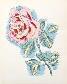 lithograph by raoul dufy