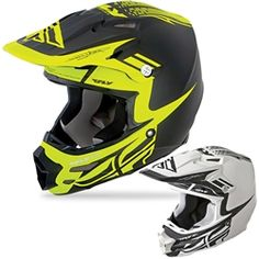 2014 FLY F2 Carbon Motocross Helmets - Dubstep