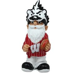 Wisconsin Badgers Football Gnome