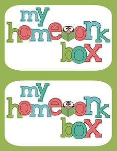 Frogs in First: Homework Box Freebie