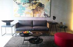 Tropical feel in the living room. #livingroom #livingroomideas #tropical #interiordesign #sofa #coffetable www.janishhome.com