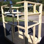 This step by step woodworking project is about free shooting house plans. I have designed this small but sturdy shooting house so you can have a nice shelter during the hunting season.