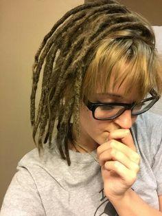 Medium dreads