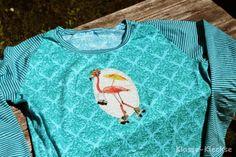 Klasse-Kleckse: Love Keys fabric, Design: farbenmix.de #sewing #fabric #jersey #nähen #stoff #bunt #colourful #diy