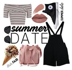 """""""Hei, handsome"""" by teodorapetre on Polyvore featuring Topshop, American Apparel, LASplash, Converse, Quay, Burberry, statefair and summerdate Summer Dates, American Apparel, Burberry, Topshop, Converse, Handsome, Polyvore, Image, Fashion"""